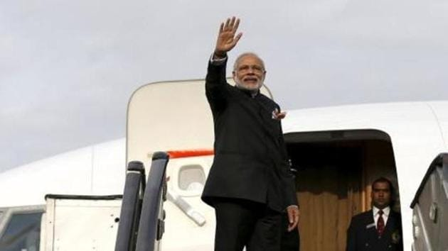 It will be India's first dedicated aircraft for the three dignitaries - the President, Vice President and Prime Minister - who usually travel abroad on an aircraft chartered from the state-run airline, Air India.(Reuters File Photo)