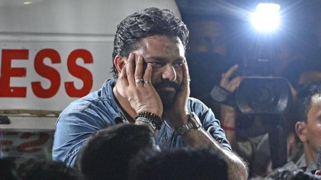 Union minister Babul Supriyo(Samir Jana/HT Photo)
