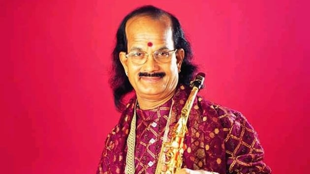 Renowned saxophonist and Padma Shri awardee Kadri Gopalnath passed away.(ANI Twitter)