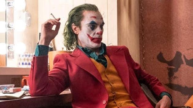 Joaquin Phoenix as Arthur Fleck in a still from Joker.