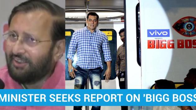 Union Minister Prakash Javadekar said that he had sought a report on the content of reality television show 'Bigg Boss'. Javadekar, who holds the Union Information and Broadcasting portfolio, said that he sought a report from officials after receiving a letter regarding the show. Season 13 of the reality show is currently being aired on television.