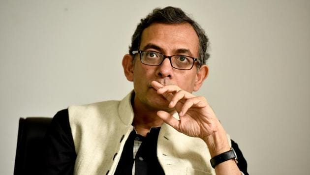 Indian-origin Economist and currently Ford Foundation International Professor of Economics at the Massachusetts Institute of Technology, Abhijit Banerjee at HT Unplugged, in New Delhi, India.(File photo:Saumya Khandelwal/ Hindustan Times)