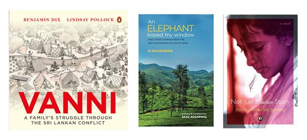 A graphic novel, a chronicle of three generations, and stories from tea plantations -- all that on this week's reading list!(HT Team)