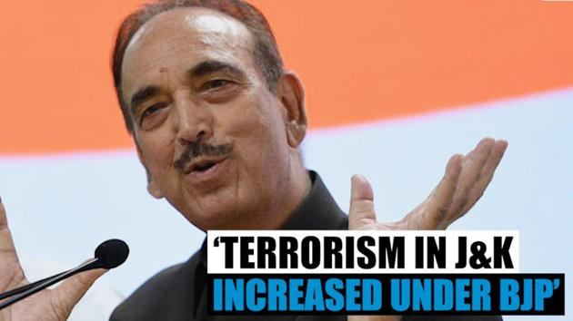 Former J&K Chief Minister and Congress leader Ghulam Nabi Azad has lashed out at the Modi government and said that terrorism has risen in the valley since the Modi government came to power. He said that the Modi government knows nothing about J&K and has mishandled the issue leading to a spurt in militancy.
