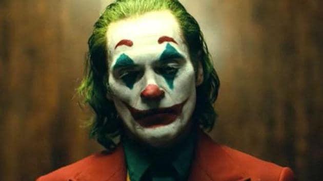 Joaquin Phoenix as Joker, in a still from Todd Phillips film.