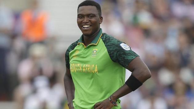 South Africa pacer Lungi Ngidi.(AP)