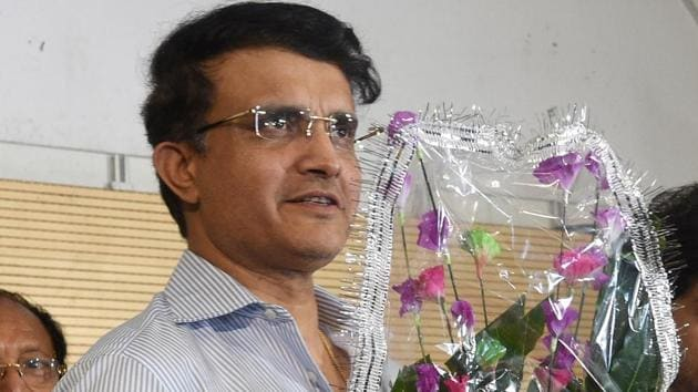 BCCI President-designate Sourav Ganguly(PTI)