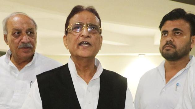 Samajwadi Party leader Azam Khan is facing a slew of criminal cases in connection with land encroachments.(ANI)