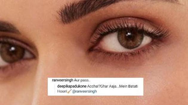 Ranveer Singh and Deepika Padukone's Instagram banter is back.