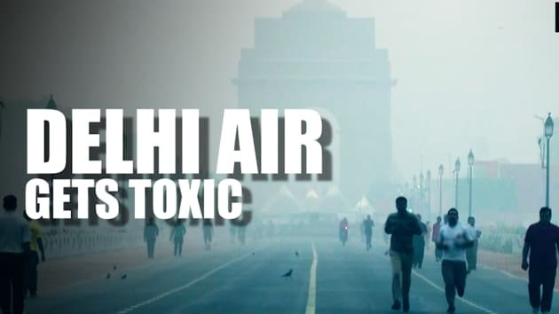 Air quality in New Delhi recorded in 'Unhealthy Category' on October 17. According to AQI, major pollutants PM 2.5 was at 229 and PM 10 at 229 in Lodhi Road. At ITI Shahdra, air quality was recorded in 'Hazardous' category at 10 am. Incidents of stubble burning in Haryana and Punjab have increased. NASA satellite imagery warned that air pollution is set to worsen in Delhi.
