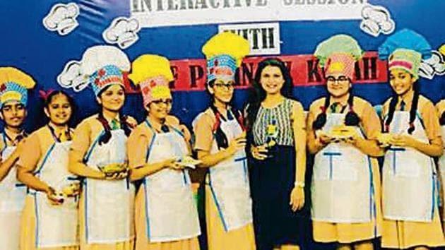 Students of Cambridge School Kandivli sharpen their culinary skills
