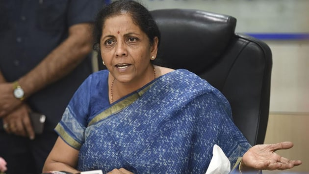 Sitharaman said she would be quite open to it and they could send her the details.(HT image)