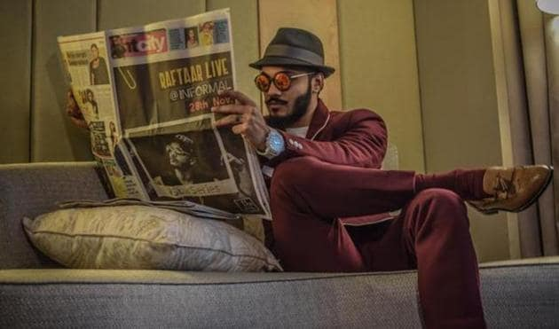 "Raftaar feels that people listening to Bollywood music aren't loyal, and will ""listen to anything,"" as long as it's popular.(HT File Photo)"