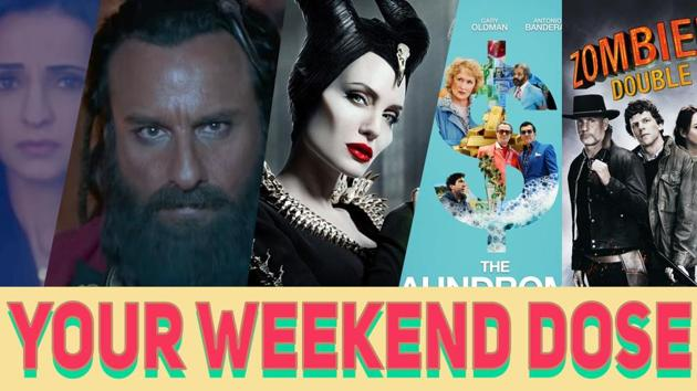This weekend, Bollywood and Hollywood have several options for you before entering the Diwali mood. In Bollywood, Saif Ali Khan's Laal Kaptaan hit the theatres where Saif plays Naga Saadhu. Angelina Jolie's Maleficent: Mistress of Evil is another option that you can consider. Zombieland: Double Tap hit the theatres after the first part of this movie was released a decade ago. Know more about your options this weekend in our video.