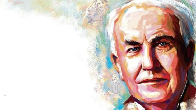 Thomas Alva Edison unveiled the phonograph in 1877, in which he had replaced the strip of paper with a tinfoil-wrapped cylinder which attained universal acclaim(ILLUSTRATION: Biswajit Debnath)