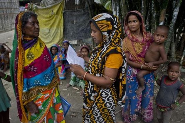 NRC is also being cited as a reason for recent surge in number of Bangladeshis trying to flee India(AP Photo/Representative)