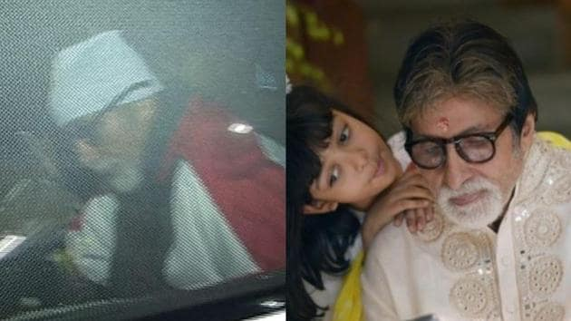 Amitabh Bachchan discharged from hospital, returns home with Abhishek, posts