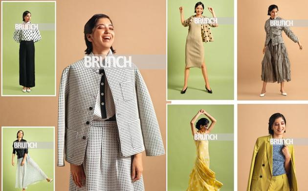 Polka dots are like checks – they'll always remain in style. (Styling: Drishti Vij; Art direction: Amit Malik; Make-up and hair: Leeview Biswas; Model: Prabhjot Kaur (Ninjas Model Management))(Photos by Shivamm Paathak)