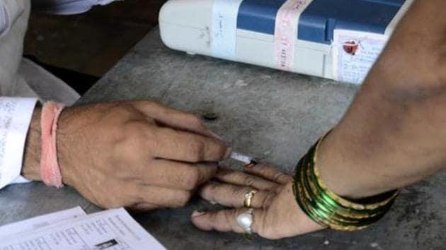 The Haryana assembly election 2019 will be held on Monday, October 21 (Photo by Ravindra Joshi/HT PHOTO)