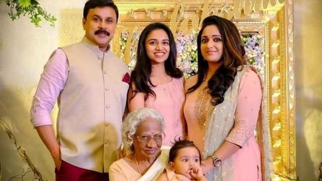 Dileep and Kavya Madhavan welcomed their daughter in October last year.(Instagram)