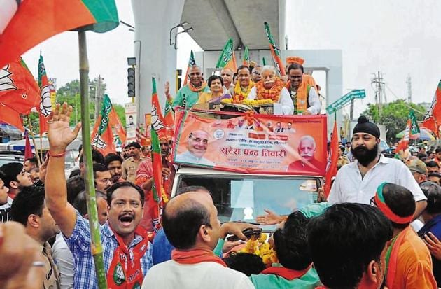 Since 1991, the saffron brigade has maintained its sway in the Lucknow Cantonment assembly constituency, barring in 2012(HT File / Representational Photo)
