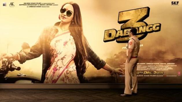 Dabangg 3 stars Salman Khan and Sonakshi Sinha in lead roles.(Instagram)