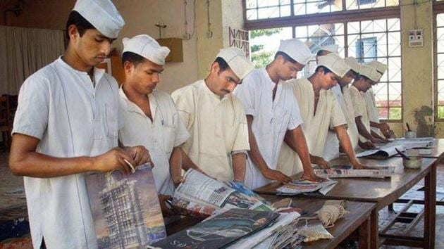Over 1,000 Delhi prison inmates to get hospitality training. (Representational image)(HT file)