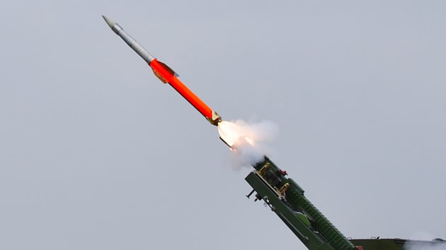 Hypersonic weapons are specifically designed for increased survivability against modern ballistic missile defence systems. Image used for representational purpose only.(Photo: MIB_India)