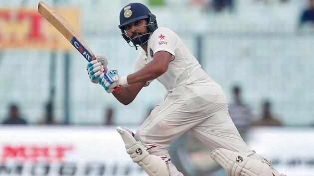 Rohit Sharma in action.(REUTERS)