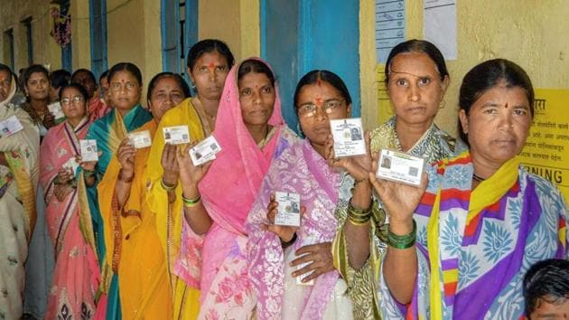 All eyes are on exit polls now, which television channels will start airing soon after the end of voting in Maharashtra and Haryana assembly elections.(PTI Photo)
