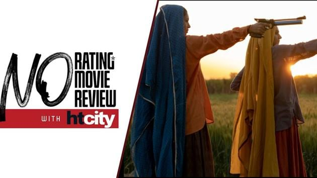 Based on the life of India's oldest sharpshooters, sisters-in-law Chandro and Prakashi, Saand Ki Aankh is an inspiring tale touching upon pertinent points such as gender equality and women empowerment. Directed by debutant Tushar Hiranandani, the film stars Taapsee Pannu and Bhumi Pednekar as shooter daadis who deal with the patriarchal ways of the society while finding joy in a sport that no men in their household can tolerate them pursuing. With some stellar performances, the film weaves in various emotions and sends across the message it intends to. However, the poorly done prosthetic is an eyesore and there isn't enough detailing put into making the makeup look consistent.