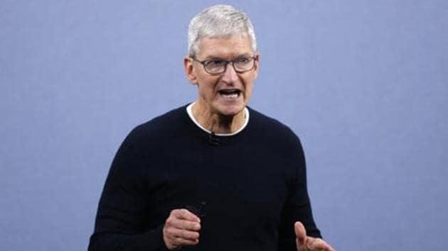 Apple CEO Tim Cook.(REUTERS)