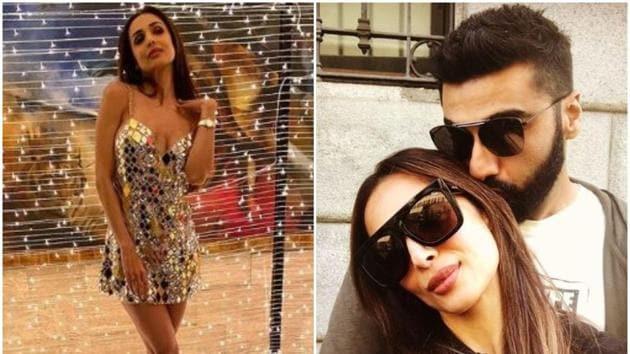 Arjun Kapoor wished girlfriend Malaika Arora on her birthday.(Instagram)
