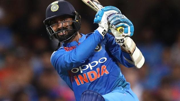A file photo of Dinesh Karthik.(Getty Images)