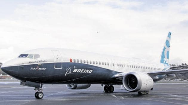 ndonesian investigators said that Boeing 737 MAX flight control system were key factors in the crash of a Lion Air jet last year.(Bloomberg Photo)
