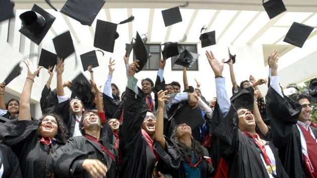 Convocation for nine universities of the Rajasthan state will be held in December. (Representational image)(AP file)