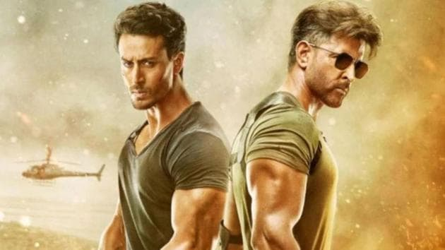 Hrithik Roshan and Tiger Shroff play feuding spies in War.