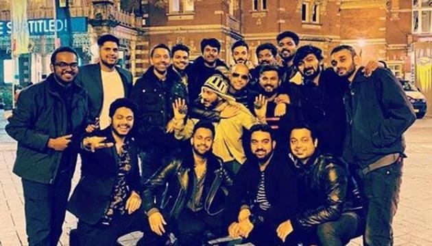 Vignesh Shivn shared a picture from Amsterdam.(Instagram)