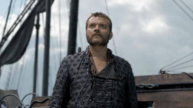 Pilou Asbaek as Euron Greyjoy, in a still from Game of Thrones.