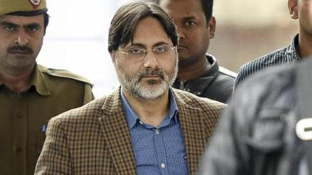 Prof. SAR Geelani, ( Sayd Abdul Rahman Geelani ) the former Delhi University lecturer passed away on Thursday. He was booked for sedition for allegedly organising an event marking the death anniversary of Parliament attack convict Afzal Guru at the Press Club of India in 2016 .(Sonu Mehta/ Hindustan Times)