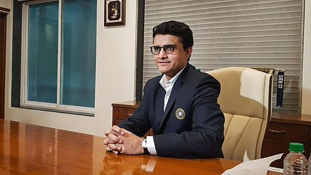 Sourav Ganguly takes charge as BCCI's new President(PTI)