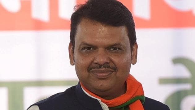 """Devendra Fadnavis said the BJP and its ally Shiv Sena will go by what was """"pre-decided"""" between them on sharing of power.(Vijayanand Gupta/HT Photo)"""