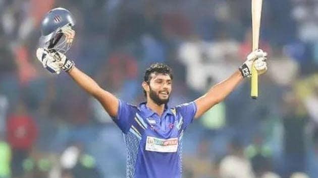 Mumbai all-rounder Shivam Dube earned his maiden India call-up for the Bangladesh series(Shivam Dube (Facebook))