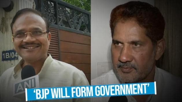 BJP leaders in Haryana have said that they will form government in the state with the support of independent MLAs. This after BJP fell short of a majority in the assembly polls. BJP leaders said that the mandate is in their favour as they have emerged as the single largest party in Haryana. BJP state leaders also confirmed that BJP would form government under Manohar Lal Khattar.