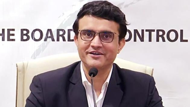 Sourav Ganguly is young, understands the contemporary game and the mind-set of modern players. He's shown himself to be a clear thinker, decisive and an effective communicator.(HT File)