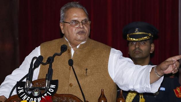 Jammu & Kashmir Governor Satyapal Malik has been appointed as Governor of Goa(PTI)