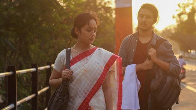 A still from Bhaskar Hazarika's Aamis.(HT)