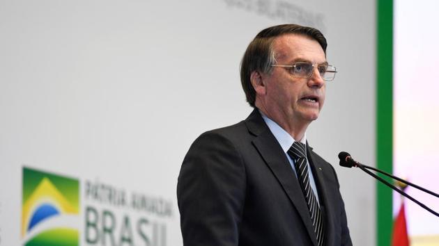 Brazil's President Jair Bolsonaro said Indians will not require visas to visit Brazil.(REUTERS)