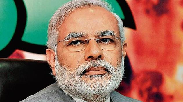 Pakistan on Sunday said it has denied India's request to allow Prime Minister Narendra Modi's VVIP flight to use its airspace.(Vipin Kumar/Hindustan Times)