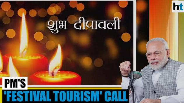 A new edition of Prime Minister Narendra Modi's 'Mann Ki Baat' was broadcast on Sunday. In the latest episode of the radio show, PM Modi wished the nation a happy Diwali. He also gave a call for boosting 'festival tourism' in the nation. He sought to enlist the help of Indian expatriates for the same, stating that they can help generate interest abroad about India's diverse culture and festivals.